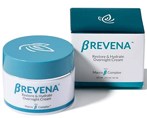 BREVENA Restore & Hydrate Overnight Cream for Dry, Aging Skin | Fragrance Free, with Hyaluronic Acid, Macro B Complex, Rich Night Cream for Sensitive Skin ()