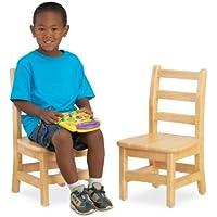 Jonti-Craft KYDZ Ladder Back Chair Pair