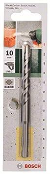 Bosch 2609256903 Foret /à b/éton SDS-Quick pour Perforateur UNEO 100 mm Diam/ètre 6 mm