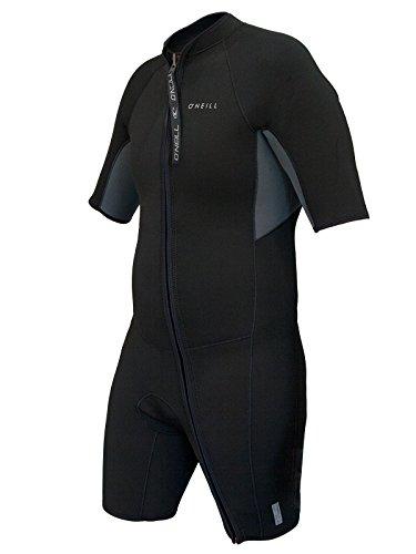 (O'Neill Reactor-2 men's front zip spring XL Black/graphite (5064IS))
