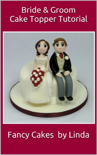 Bride & Groom Cake Topper Decorating Tutorial
