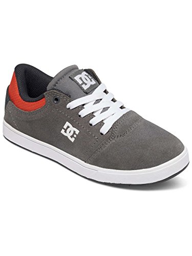 Dc Shoes Sneaker Crisis B Grey / Black / Orange. 6 Junior