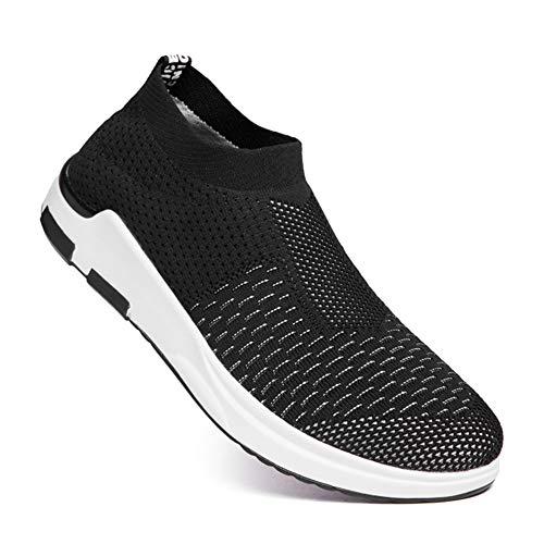 Ginnastica Scarpe Casual All'aperto Corsa Leggero Nero Fitness Donna Running Respirabile Mesh Sneakers Uomo Sport Da aYxY1UwFq