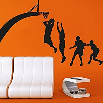 amazon wall decal vinyl sticker decals art decor design basketball