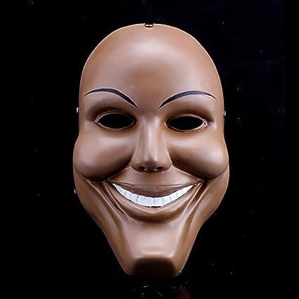 2459 newsmile cara resina película la purga Cosplay disfraz de payaso Scary Horror de Halloween mascarada