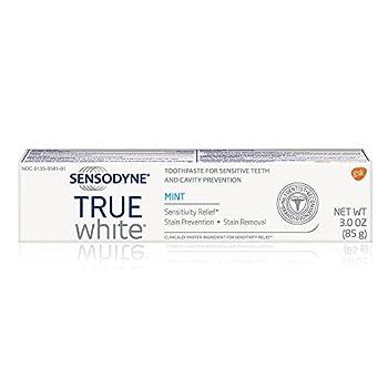 Sensodyne Sensitive Teeth Whitening, True White Mint, Sensitivity Toothpaste, 3 Ounce 7