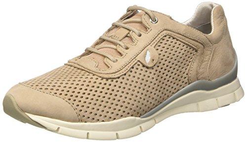 Geox D Sukie A - Zapatillas Mujer Beige (LT TAUPEC6738)