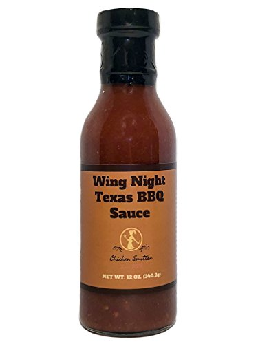 Wing Night Texas BBQ Sauce - Crafted in Small Batches with Farm Fresh Herbs for Premium Flavor and ()