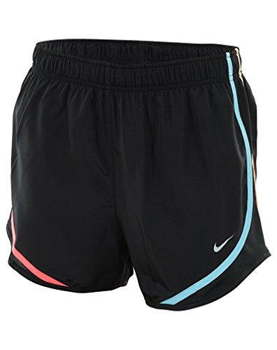 NIKE Women's Dry Tempo Running Short Black/Multi-color