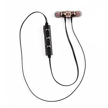 Auriculares Bluetooth inalámbricos Deportivos Auriculares estéreo magnéticos in-Ear estéreo 4.1 para Correr