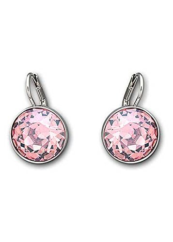 Earrings Swarovski Pierced Bella (Swarovski Crystal Light Rose Bella Pierced Earrings)