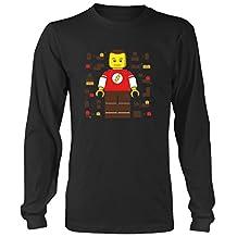 Sheldon Cooper Lego Big Bang Theory Mens & Womens long sleeve shirt