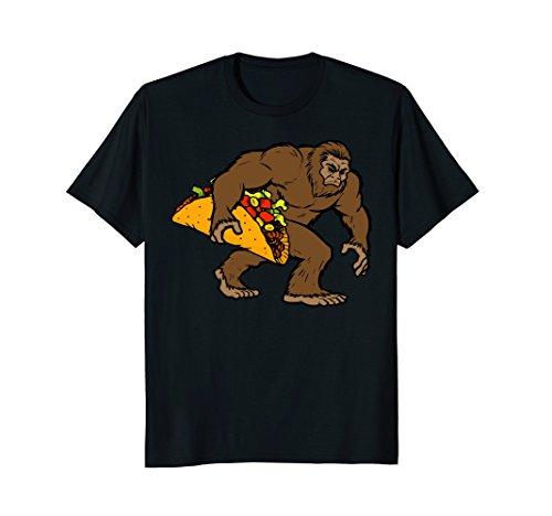 Bigfoot Taco Funny Sasquatch Cinco de Mayo Costume T Shirt]()