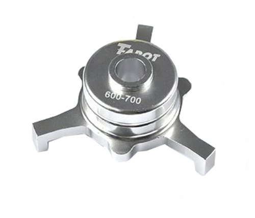 Tarot CCPM Metal Swashplate Silver TL2233-01 for Trex 600 700 RC Helicopter