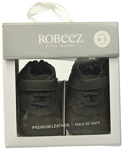 Pictures of Robeez Boys' George Shoe First KicksGrey12-18 65.75421.02.073.12.58 3