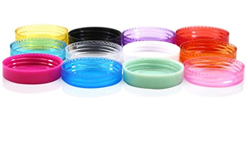 062673e41830 12PCS 2g Empty Refillable Travel Plastic Cosmetic Jar Pot Sample Containers  with Screw Cap Makeup...