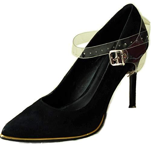 Amovibles Des Transparent Pour Chaussure Plates Talons Laches Hauts Chaussures Sangles Place De Maintenir En À dqwd0A