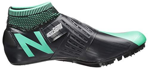 New Balance Men's Sigma V2 Vazee Track Shoe neon Emerald/Black 7 D US by New Balance (Image #7)