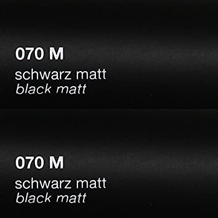 DIN A4 Bögen 10er Set Schwarz Glanz 29,7x21cm ORACAL 751C Folie Auto 20,47€//m²