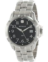 Men's 78236 GST Black Dial Steel Bracelet Watch