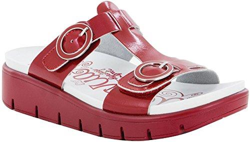 Alegria Women's Vita Duo Red Patent Sandal (VIT-104D) Size: Euro 38 \ US 8-8.5