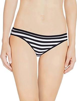 Nabtos Cotton Women's Panties Bikini Underwear Stripes Women's Panties (Pack of 3 6)