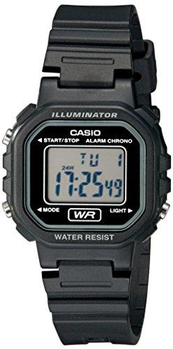 Casio Women s LA20WH-1ACF Classic Digital Black Resin Watch