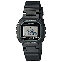 Casio Women's LA20WH-1ACF Classic Digital Black Resin Watch