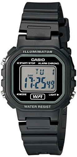 Casio Women's LA20WH-1ACF Classic Digital Black Resin Watch by Casio