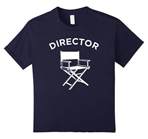 unisex-child Movie Director T-Shirt, Filmmaker Director Chair Tee 6 (Youth Director Chair)