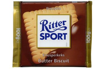 Ritter Sport Butter Biscuit (pack of 5)