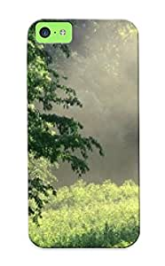 Groovyliterat MhdZotG4785uFDFN Case Cover Iphone 5c Protective Case Morning Meadow, Edwin Warner Park, Nashville, Tennessee