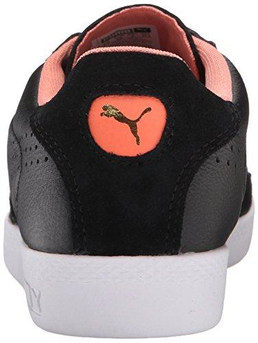 Puma Partido Lo básico Deportes Sportstyle la zapatilla de deporte Black/Desert Flower