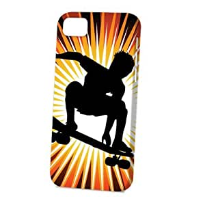 Case Fun For HTC One M7 Case CoverVogue Version - 3D Full Wrap - Skateboarder