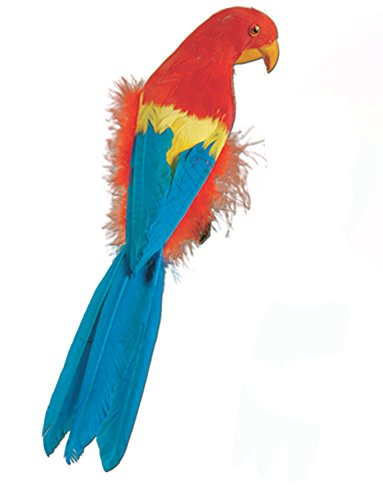Feathered Parrot Pirate Costume Accessory 12