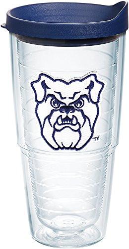 Tervis 1204061 Butler Bulldogs Logo Tumbler with Emblem and Navy Lid 24oz, (Butler Tumbler)