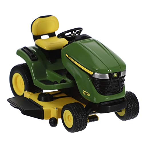 Hallmark Keepsake Christmas Ornament 2019 Year Dated John Deere X390 Lawn Tractor, Metal