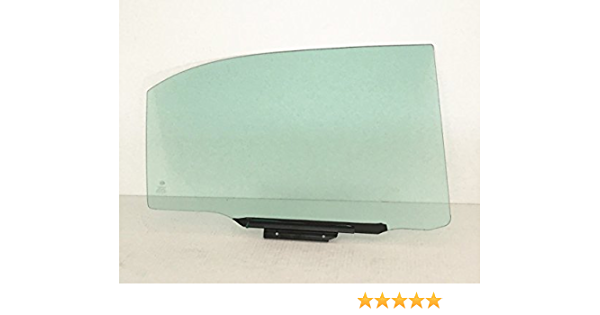 NAGD Passenger Side Right Rear Vent Glass Window Compatible with Toyota Corolla//Chevrolet Prizm 4 Door Sedan 1998-2002