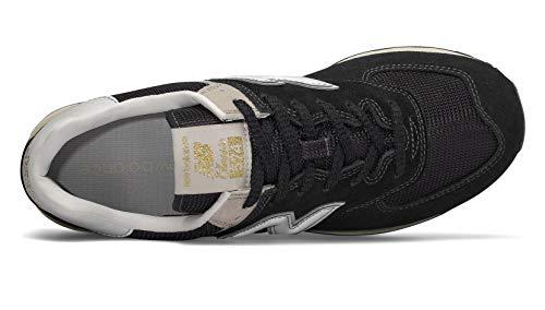 New Black Sneaker 574v2 Uomo Balance bone rqWZFzrTw