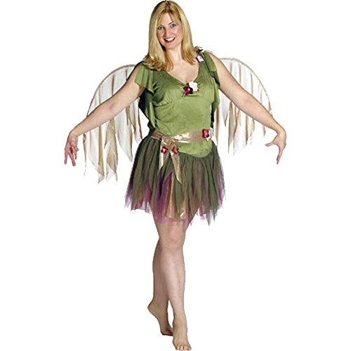 Adult Women's Plus Size Green Fairy Costume (12) -