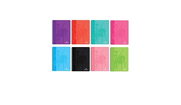 60 gramos TAMA/ÑO PEQUE/ÑO A5 hojas lisas BN7675 Pack de 8 cuadernos tapa normal 80 hojas