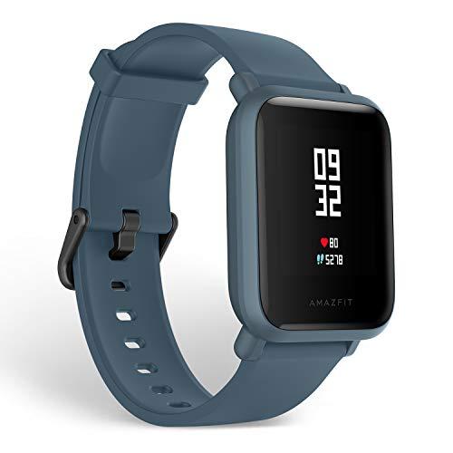 Amazfit BIP Lite 3ATM Smart Watch (Blue)