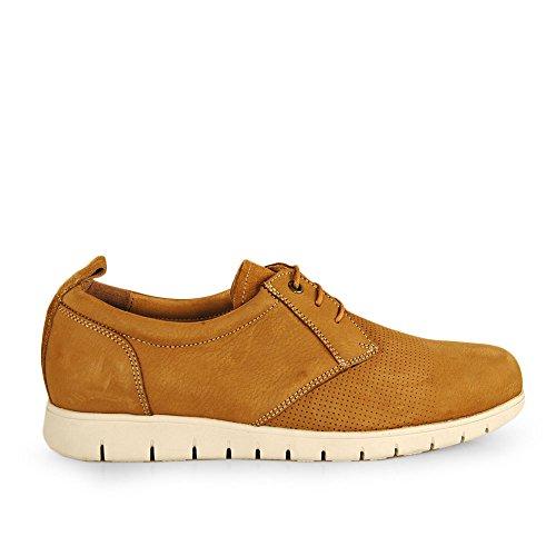 Wisconsin Zapato Cordon Picado Nobuk Tierra