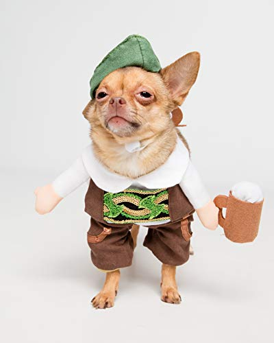 Pet Krewe PK00302S German Oktoberfest Dog Costume, Small, -