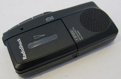 RadioShack Cat. No# 14-1148 Microcassette Recorder 2 Speed