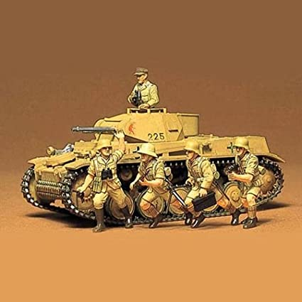 Tamiya 1:35 WWII Panzer Kampfwagen II Ausf.F//G