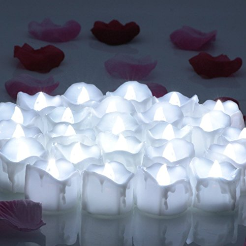 OMGAI Flameless Candles, Battery Powered Flickering LED T...