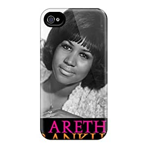 New Shockproof Protection Case Cover For Iphone 4/4s/ Aretha Franklin Case Cover
