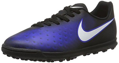 Nike 844416-016, Botas de Fútbol Unisex Adulto Negro (Black / White / Paramount Blue / Hyper Orange)
