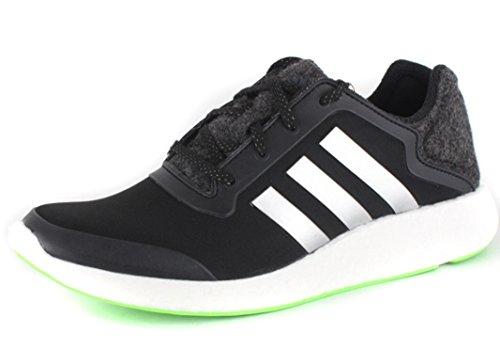 adidas Männer Pureboost schwarz / solar grün